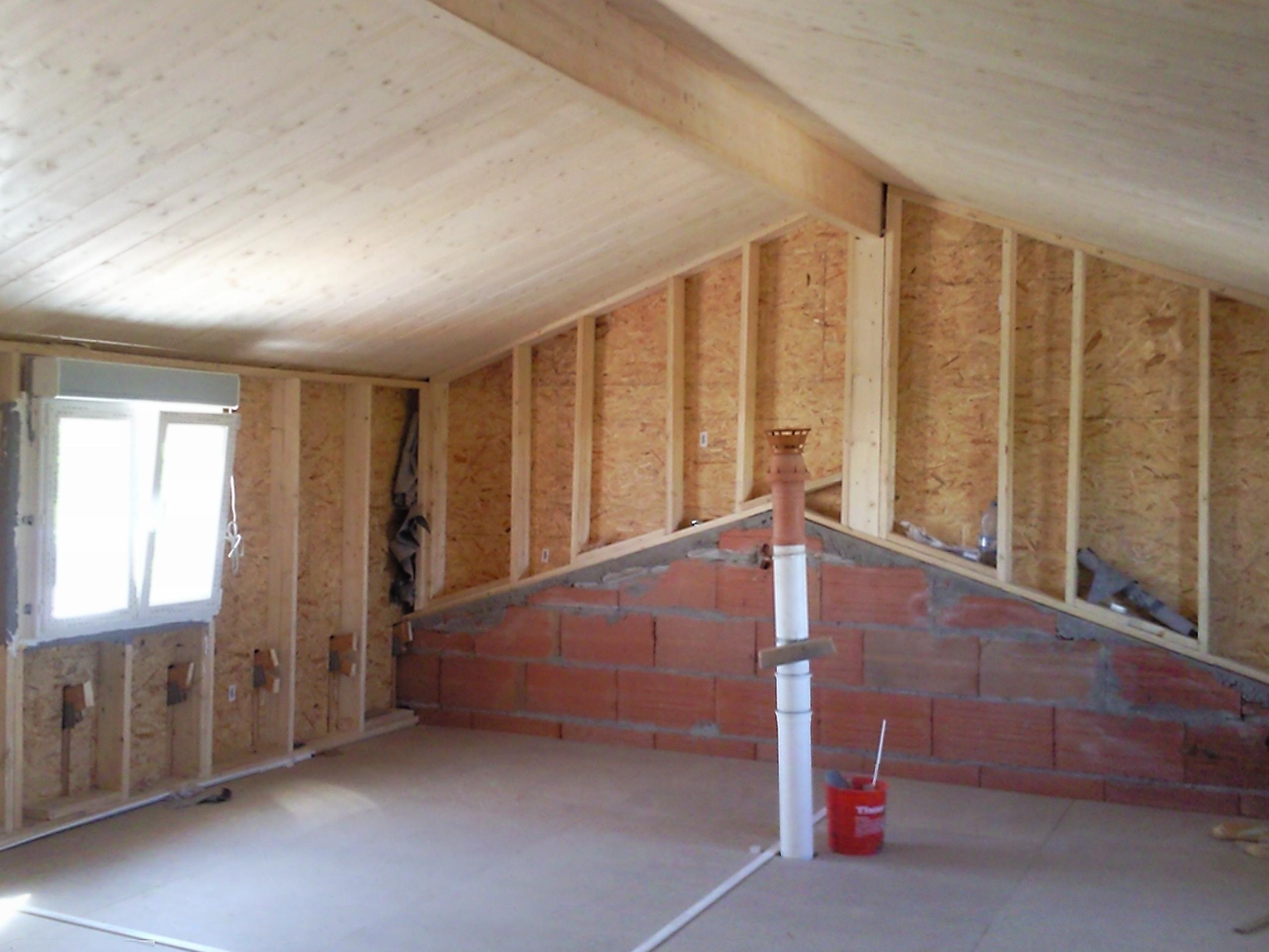 ossature 0495 la maison des charpentiers. Black Bedroom Furniture Sets. Home Design Ideas